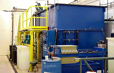wastewater treatment installation